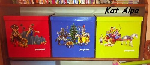 playmo - Les boîtes Playmobil, pour un rangement ludique et pratique !