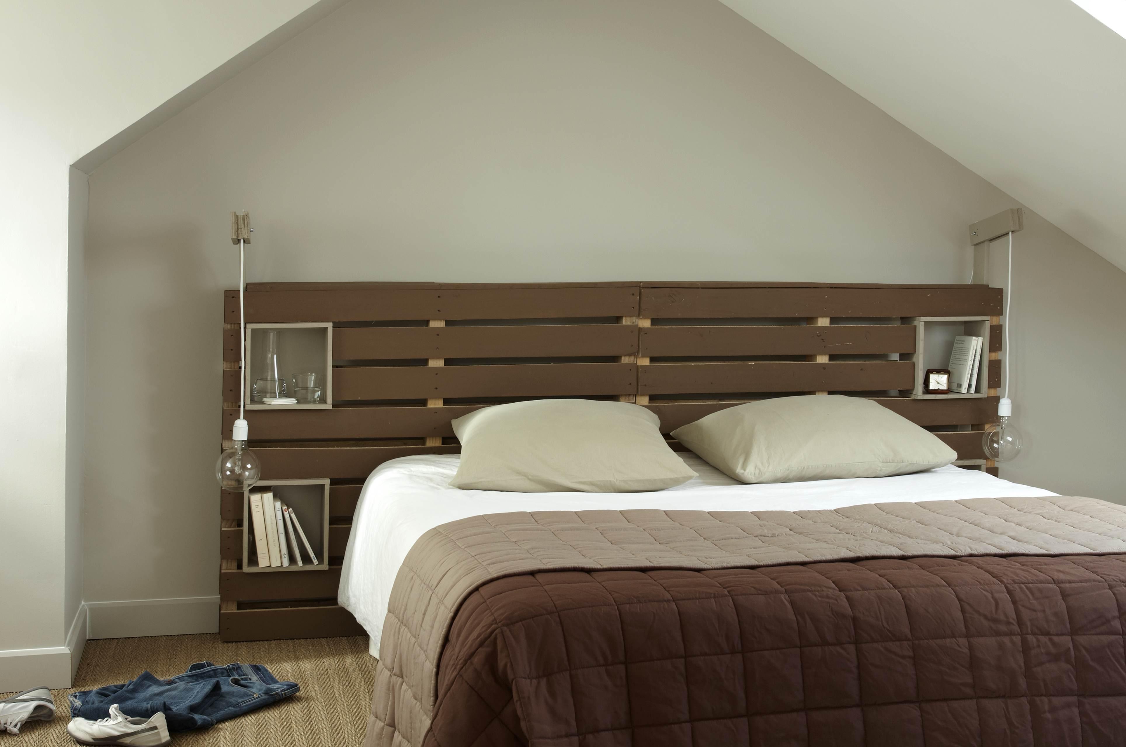 palette tete de lit - 100% palettes