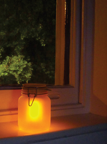 "Lampe ""Sun jar"""