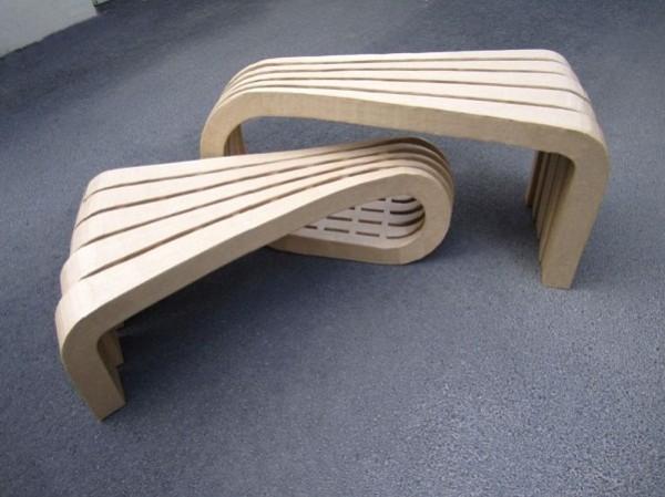 le mobilier en carton dans nos int rieurs. Black Bedroom Furniture Sets. Home Design Ideas