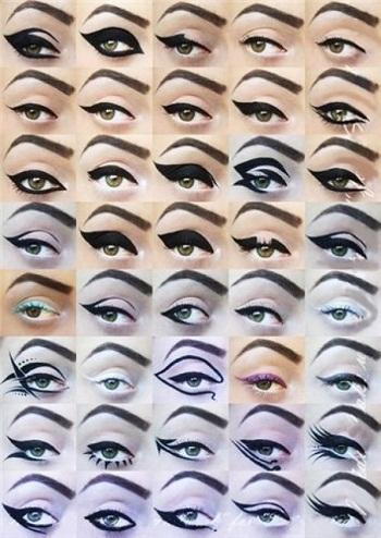 Comment mettre son Eye liner en fonction de l effet souhaité