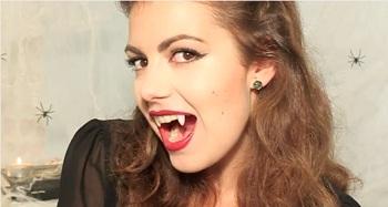 Look spécial Halloween : le maquillage Vampirella