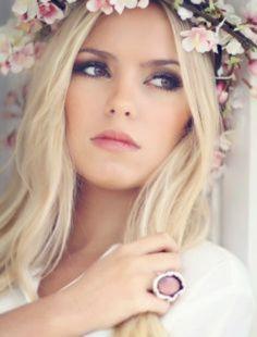 maquillage mariage boheme - Look bohème : coiffure et maquillage