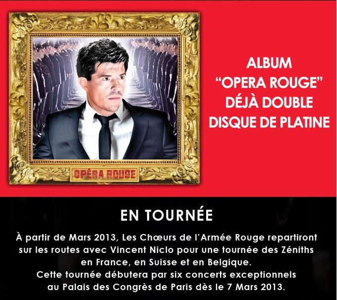 Vincent Niclo - Opera Rouge