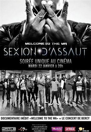 Sexion d'Assaut au cinéma