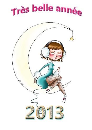 Très belle année 2013 !