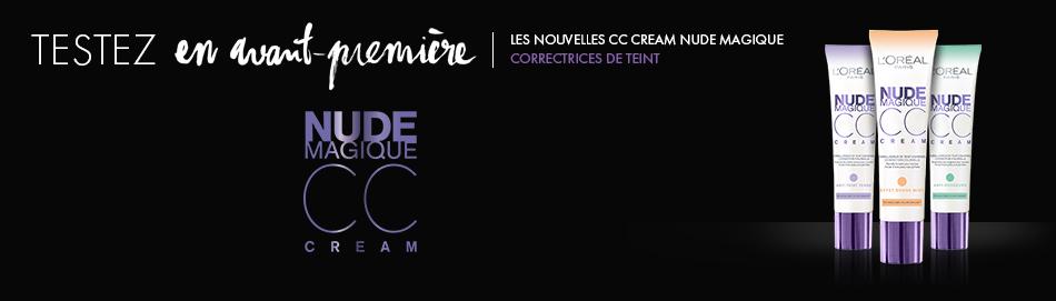 La crème Nude magique de chez LOréal Paris pour le visage