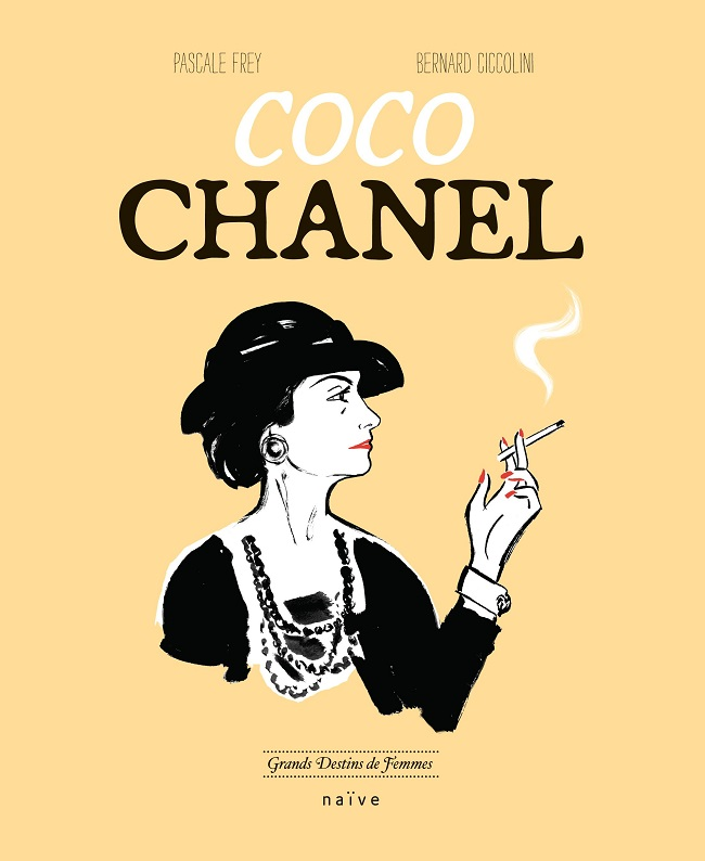 Coco CHANEL de Pascale FREY et Bernard CICCOLINI dans la collection