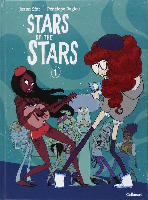 65fbfc5ecfc0a6046c2852dadf3c2834 - Stars of the stars de Pénélope Bagieu et Joann Sfar