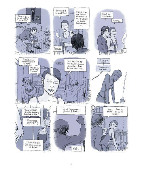 Zep planche - Une histoire d'hommes de Zep paru aux Editions Rue de Sèvres