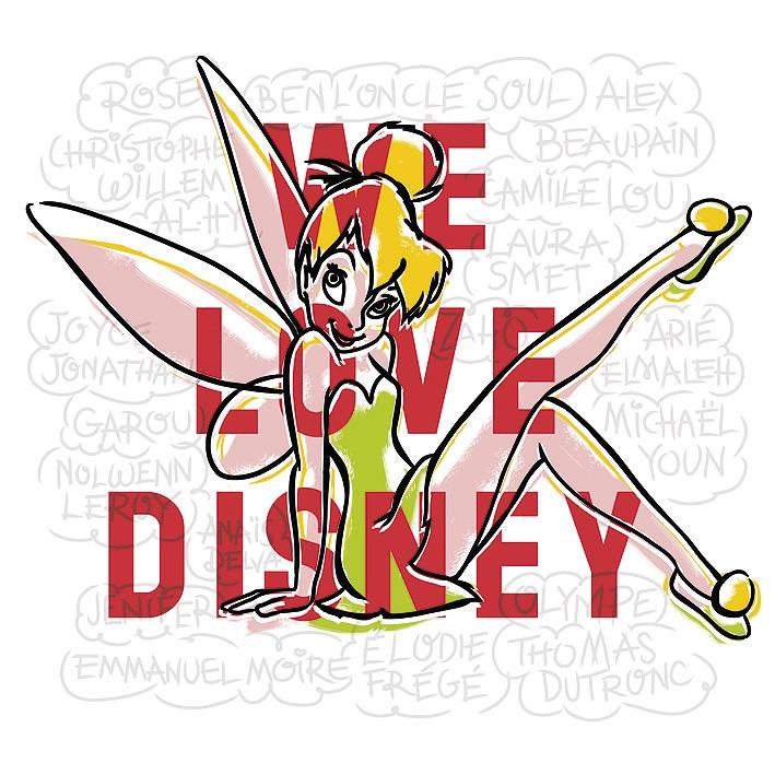 WE LOVE DISNEY, le nouvel album de reprises des B.O. Walt Disney qui ont bercé notre enfance