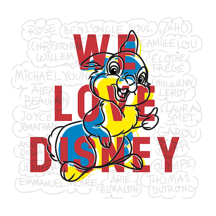 we love disney cover 2 - WE LOVE DISNEY, le nouvel album de reprises des B.O. Walt Disney qui ont bercé notre enfance