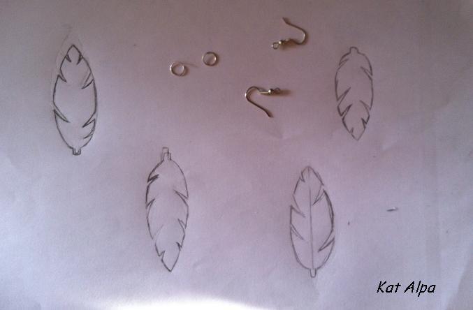 bo2 - Des boucles d'oreilles légères comme une plume