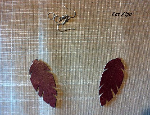 bo4 - Des boucles d'oreilles légères comme une plume
