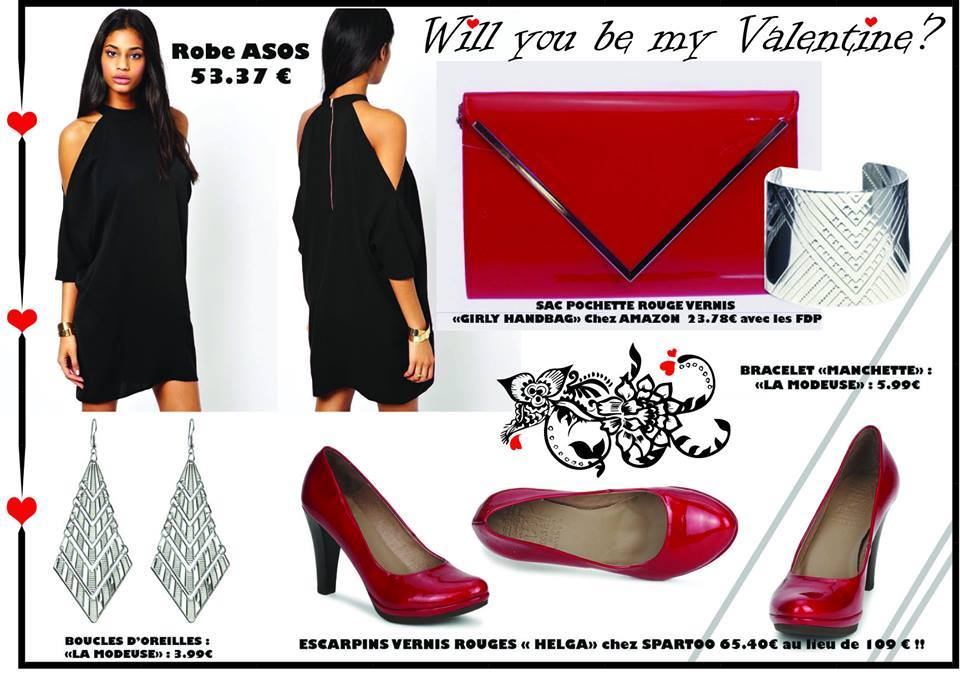 Look Saint Valentin - Total Look « WILL YOU BE MY VALENTINE ? »