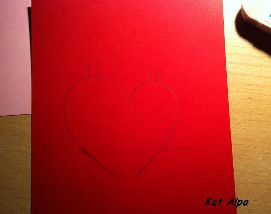 carte 2 - DIY pour la Saint Valentin
