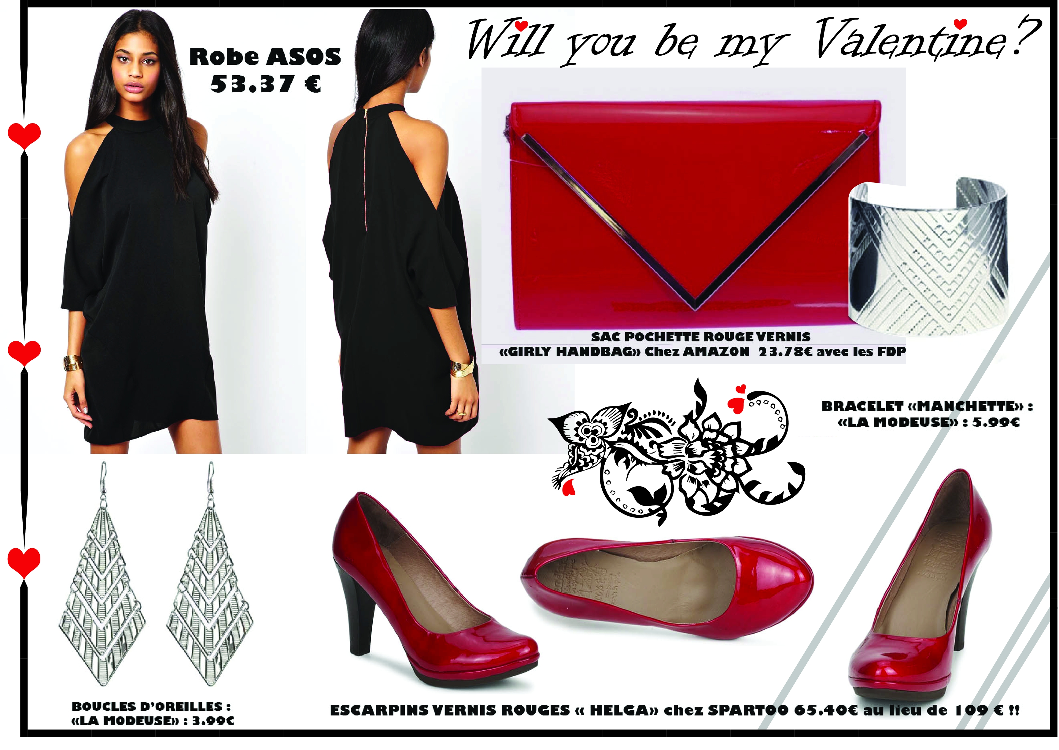Total Look « WILL YOU BE MY VALENTINE ? »