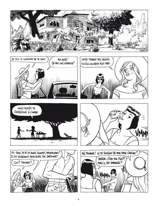 histoires inavouables planche01 - Histoires inavouables de Ovidie et Jérôme D'Aviau