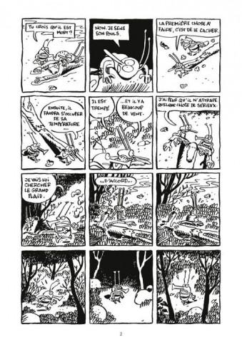 Planche la proie - La proie de David De Thuin