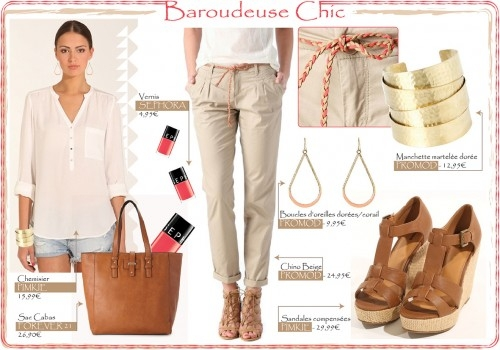 "b15e8a343e5728d8313eac39cd22374b - TOTAL LOOK ""BAROUDEUSE CHIC"""