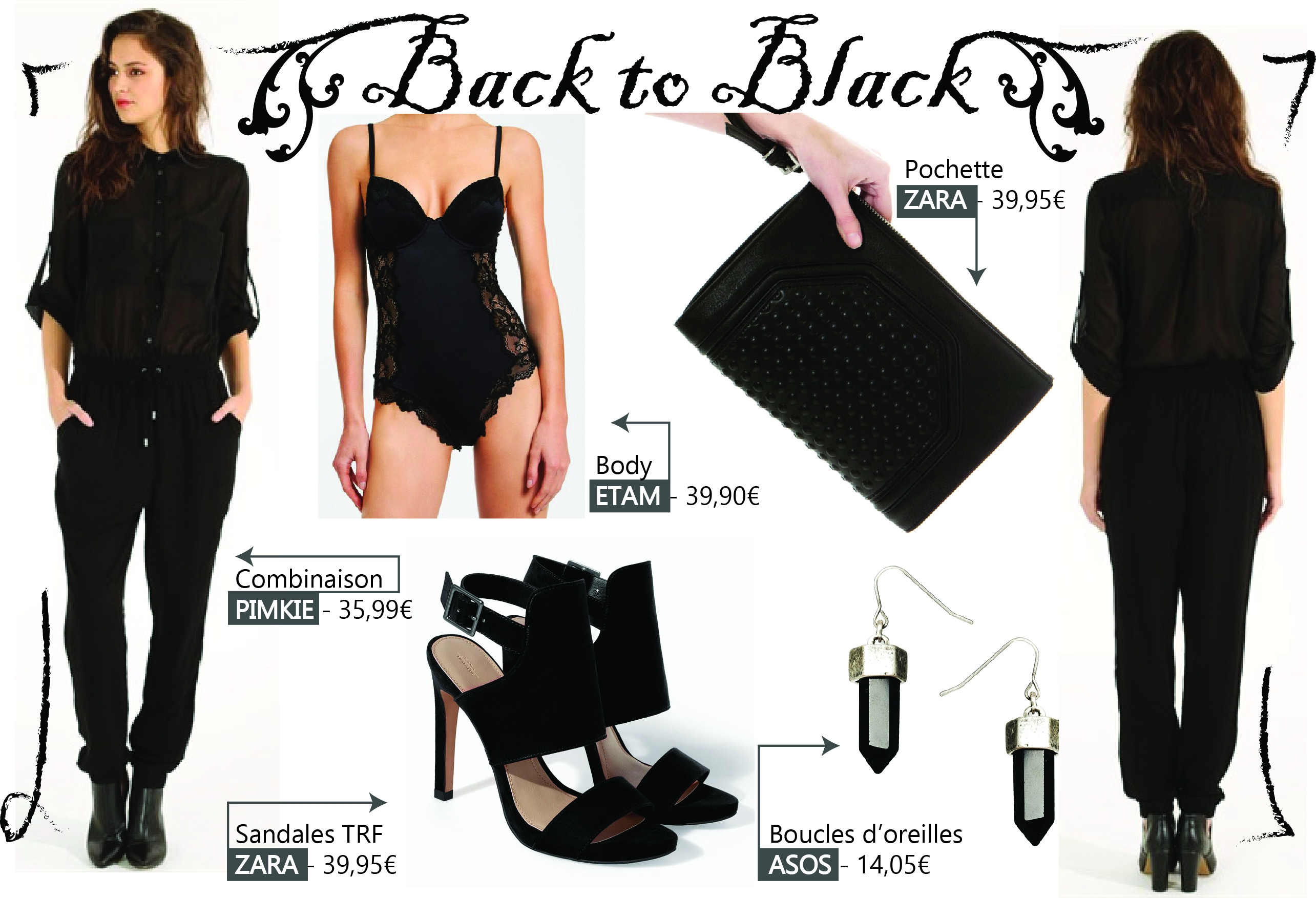 TOTAL LOOK BACK TO BLACK