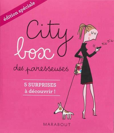 11d123796086c1d809e731bf566e453d - Édition spéciale de la City box des paresseuses des éditions Marabout