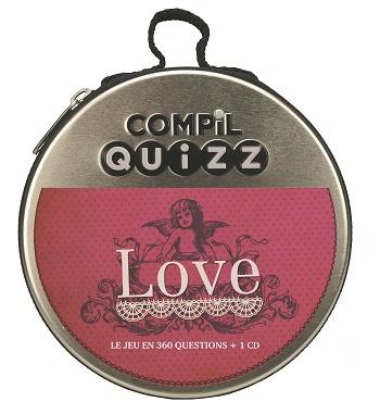 COMPIL QUIZZ Love - Compil quizz, des jeux ludiques pour toute la famille et pour tous les goûts