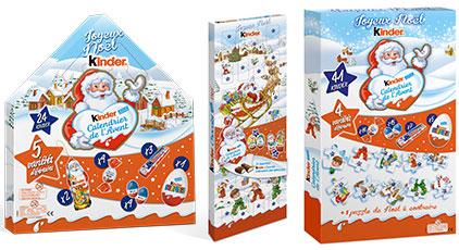 Calendrier de lAvent Kinder - Choisir son calendrier de l'Avent... pour mieux attendre Noël !