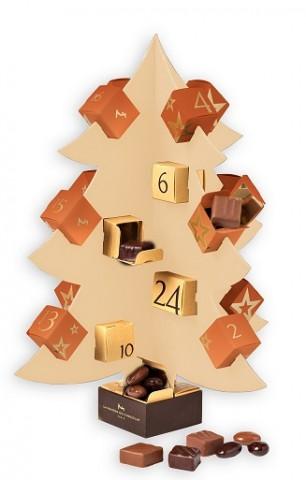 Calendrier de lAvent La Maison du Chocolat - Choisir son calendrier de l'Avent... pour mieux attendre Noël !