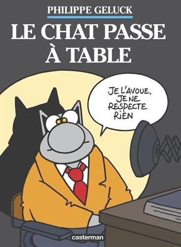 le chat passe %C3%83  table e01fb - Un noël littéraire