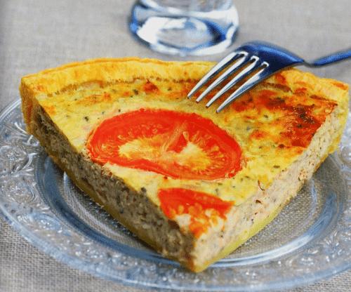 quiche thon 500x416 - La quiche au thon ~ recette facile et rapide
