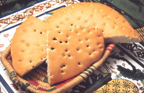 Pain Arabe ou Khobz Aarbi
