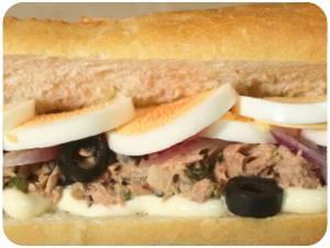 Recettes de sandwichs tunisiens au thon