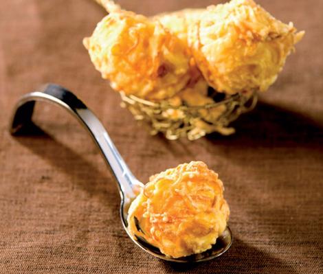 beignets pdt carotte - Beignets de pommes de terre à la carotte
