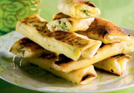 briouats fromage - Briouats au fromage frais et à la coriandre