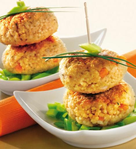 burger millet legumes - Burger de millet aux légumes