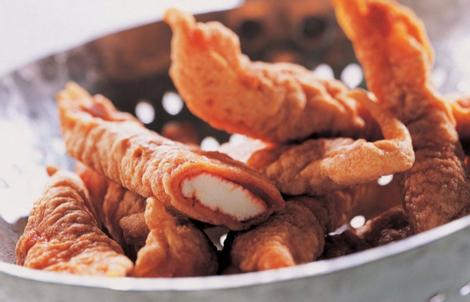 Goujonnettes de poulet aux épices tandoori