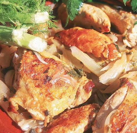 poulet-fenouil