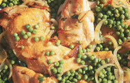 Poulet aux petits pois (Marquit jilbana bid djaj)