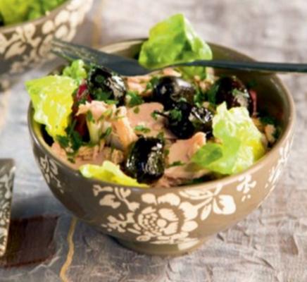 salade chicoree thon - Salade de chicorée au thon et aux olives