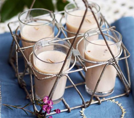 smoothie chai - Smoothie chaï indien - Smoothies du petit déjeuner