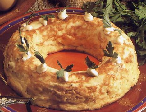 souffle pdt - Soufflé de pommes de terre