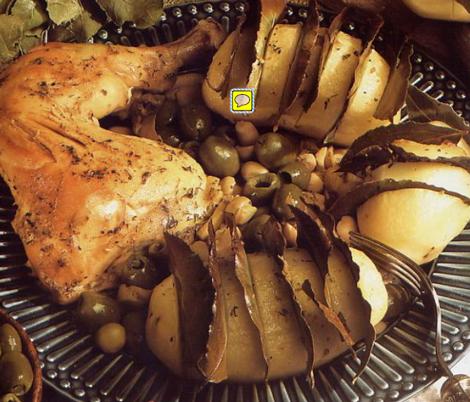 souflet pdt - Soufflé de pomme de terre au laurier