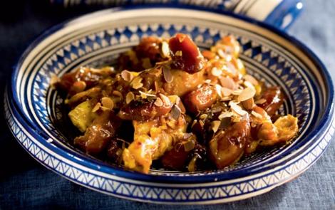 tajine de poulet dattes - Tajine de pouletet dattes « comme à Zagora »
