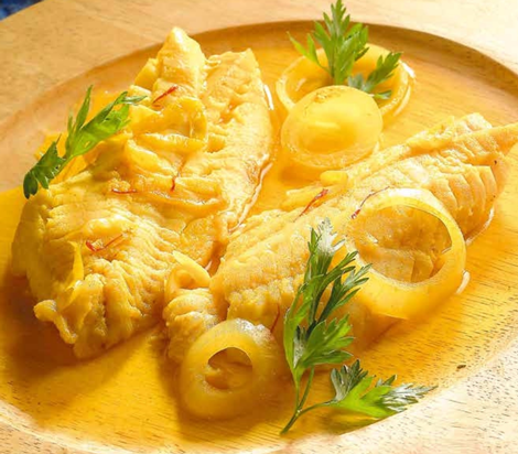 tajine rascasse - Tajine de poisson rascasse au safran