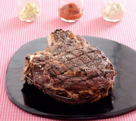 cote de boeuf - Côte de bœuf aux trois sauces