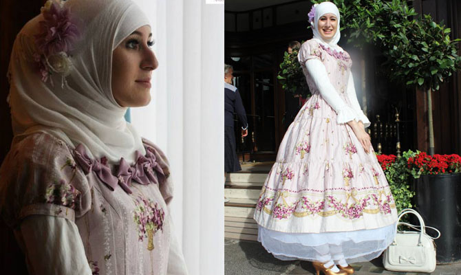 03 when muslim girl meets lolita fashion - Sublimez-vous avec Magali Piette Make Up Artist