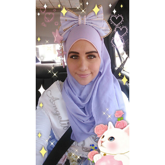 10 when muslim girl meets lolita fashion - Gardez très facilement les empreintes de bébé grâce à Kaloo