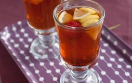 Le thé de gingembre aux fraises