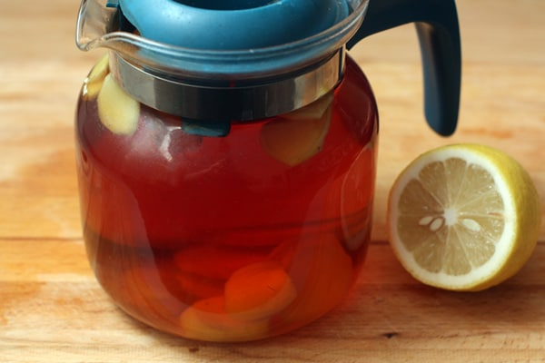 33 - Le thé de gingembre aux fraises